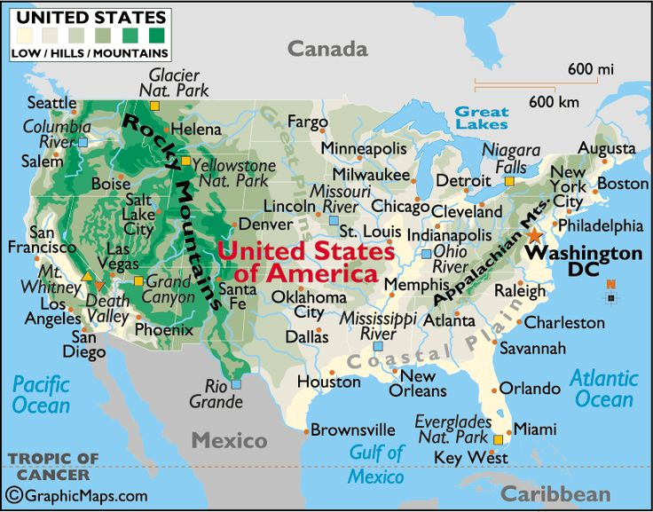 united states map large color map of us us maps worldatlascom