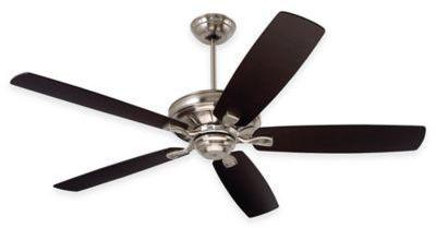 Emerson Carrera 60-Inch Ceiling Fan in Brushed Steel
