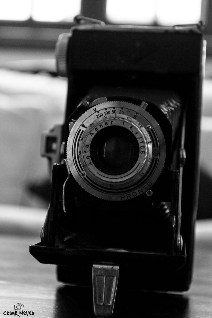 Câmera: Agfa Billy I Lente: Agfa Agnar 105mm Produzida na Alemanha na década de 50 #vintage