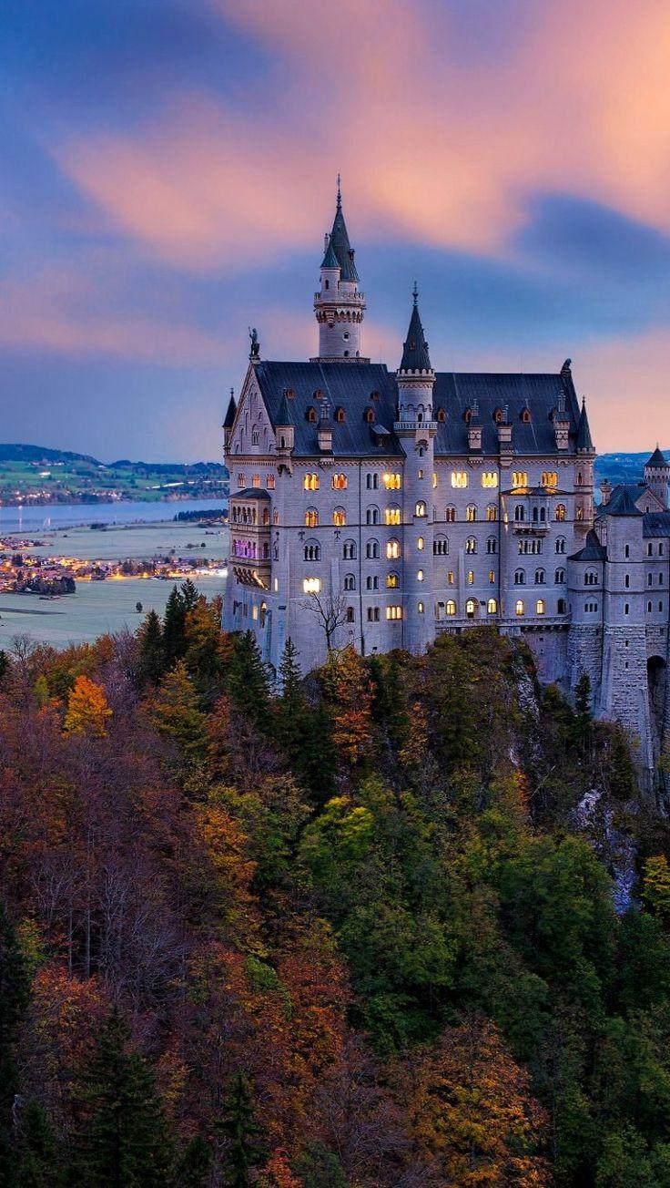 Sunrise.. Neuschwanstein Castle, Bayern, Germany | by İLHAN EROGLU Highlight Renommend going here!!