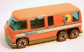 Vintage Hot Wheels Redline GMC Motor Home