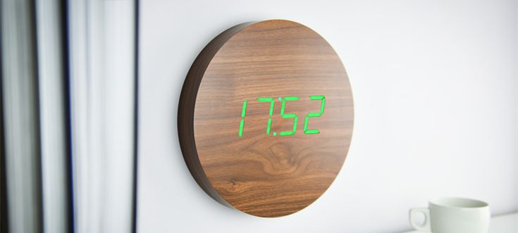Sound activated wall clock...coming soon