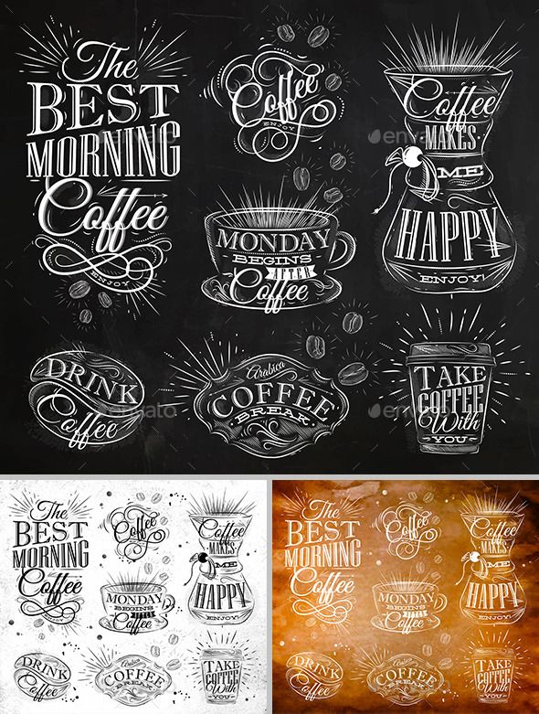 Coffee Symbols PSD, Vector EPS, AI Illustrator. Download here: https://graphicriver.net/item/coffee-symbols/12493225?ref=ksioks