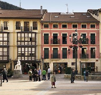 Plaza San Severino. Balmaseda