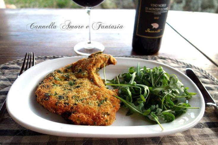 Le braciole di maiale impanate ricetta tipica siciliana sono un secondo saporito e sfizioso. Sono tipiche della mia zona in Sicilia (Siracusa).