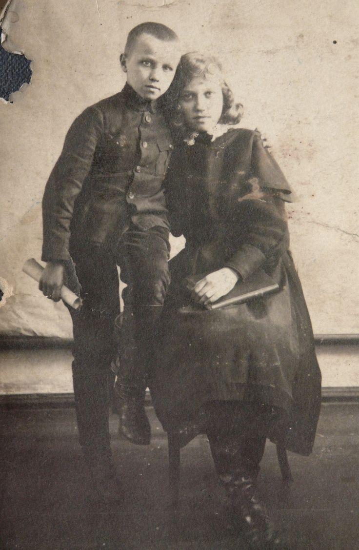 Школярка Вера 1921 р.