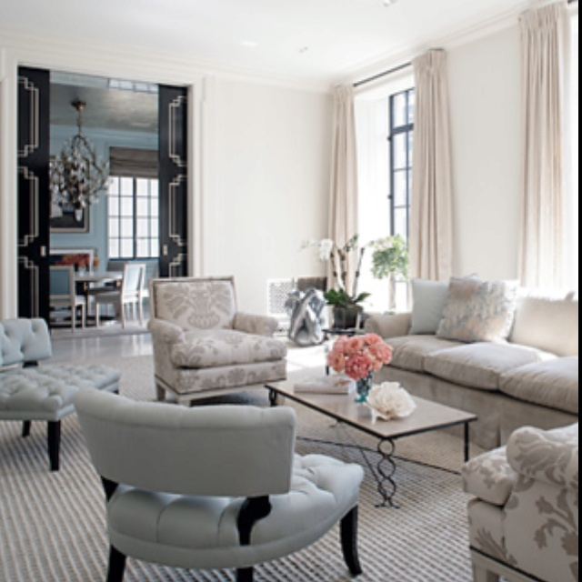 Best Paris Apartment Styles Images On Pinterest Paris - Damask living room furniture