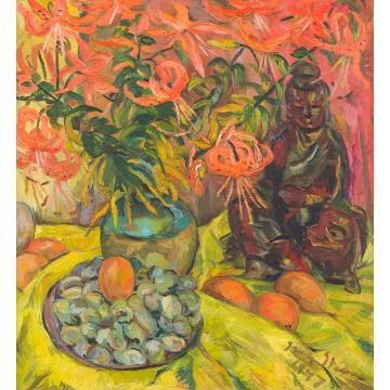 Irma Stern; Still Life with Lilies