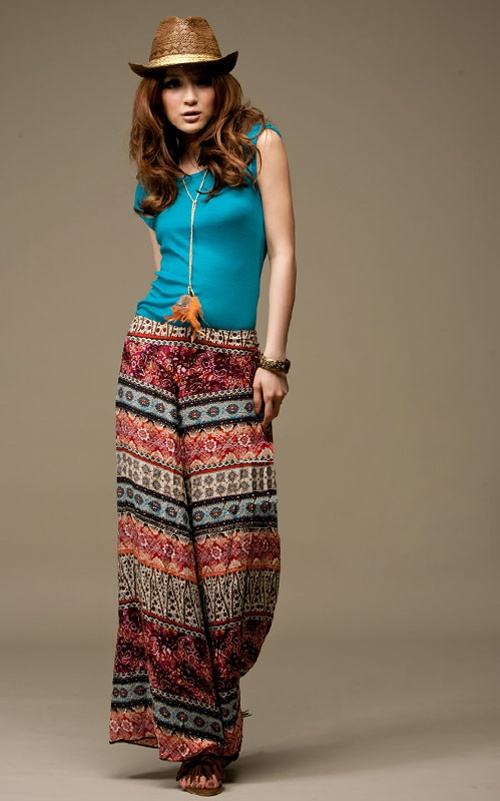 Pin By Nes Piccolo On Style Pinterest Pants Flowy Pants And Mesmerizing Patterned Flowy Pants