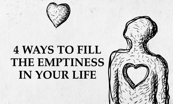Many people feel empty in their lives, but not too many people can pinpoint why. One main reason lies at the heart of emptiness, but it can be overcome...