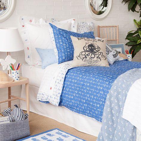 Anchor Print Bedlinen - Bed Linen - Bedroom   Zara Home Croatia