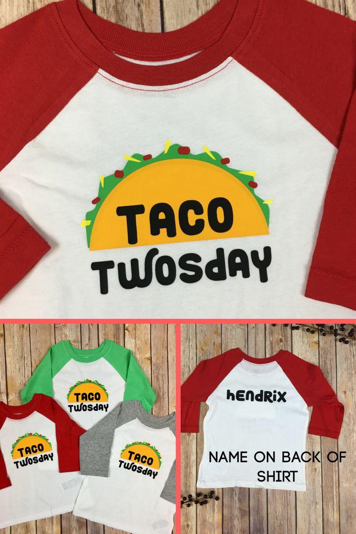 0cd0cb57ee7 Taco Twosday Shirt   Kid s Birthday Raglan   2nd Birthday Outfit   2nd  Birthday Shirt   Taco Party Shirt   Two Year Old Boy   Dos Birthday in 2019