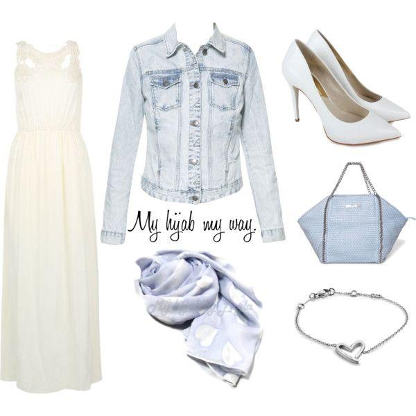 """Muslimah fashion 1"" by lai-la on Polyvore"