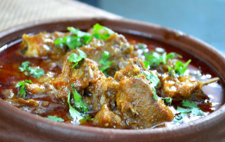 Try this delicious Dhaba mutton a dish with flavours from roadside Dhabas cooked in spicy yogurt gravy. Serve with steamed rice rumali roti or lachha paratha.   http://ift.tt/2bqXr4h #Vegetarian #Recipes