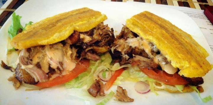 Un Quot Jibarito Quot Sandwich De Pl 225 Tano Con Pernil Hispanic Kitchen Mostly Puerto Rican Amp Dominican