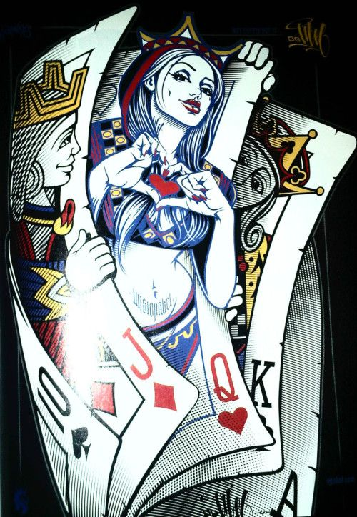 Pin De Johaibert Quintero En Dibujos Drawings Playing Cards Y Tattoos