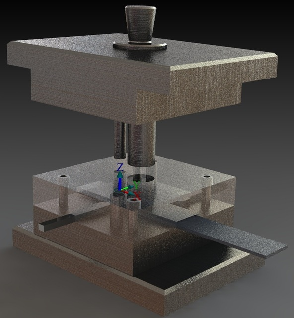 Machine press from GrabCAD
