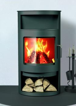 Rais Wood Stoves. Modern and little.