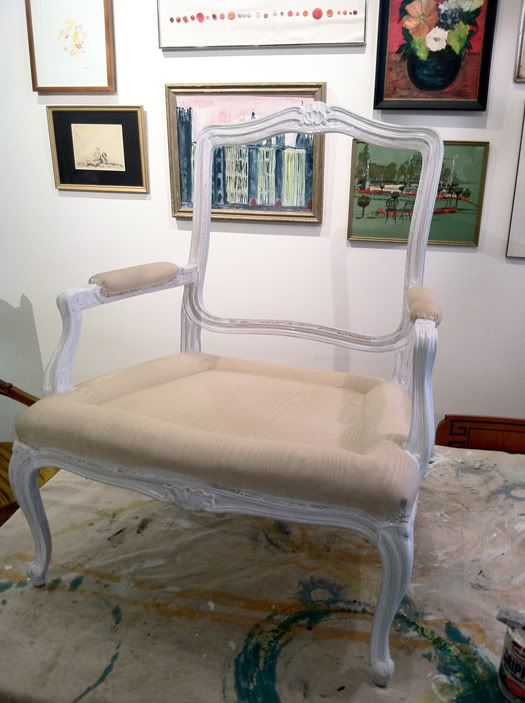 Re Upholstering A Chair   Part 2