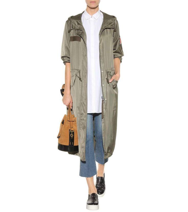mytheresa.com - Sneaker slip-on Eyes in pelle con platform - Luxury Fashion for Women / Designer clothing, shoes, bags