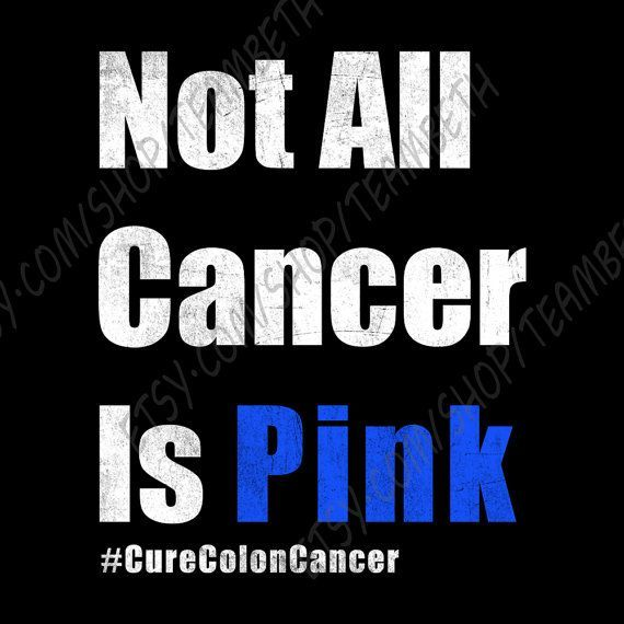 Colorectal cancer colon cancer rectal cancer not all by TeamBeth