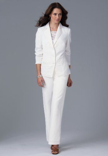 9 best images about stylish pant suit on pinterest pant for Wedding dress pant suits
