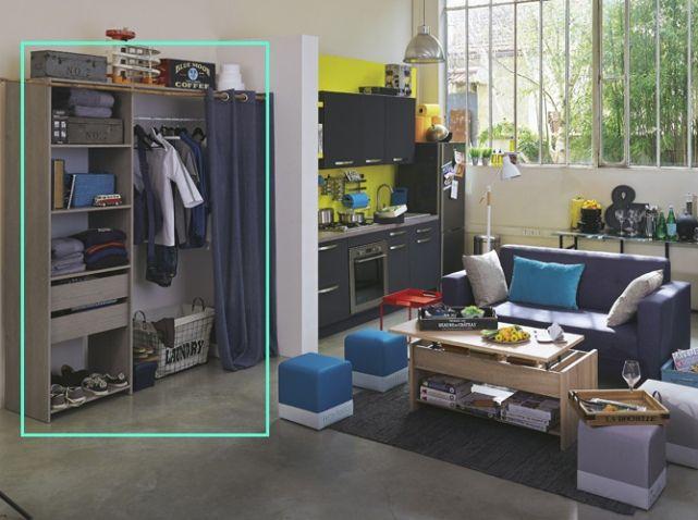 Studio avec petite cuisine equipee with petite cuisine for Petite cuisine equipee studio
