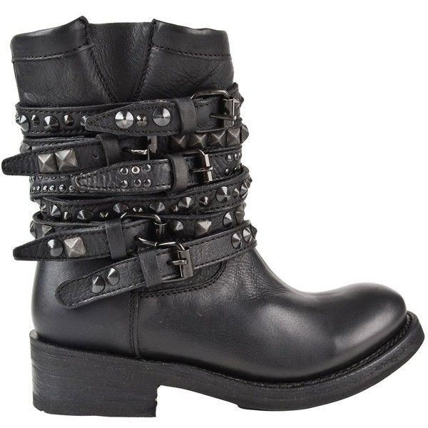 ASH Tempt Biker Boots found on Polyvore