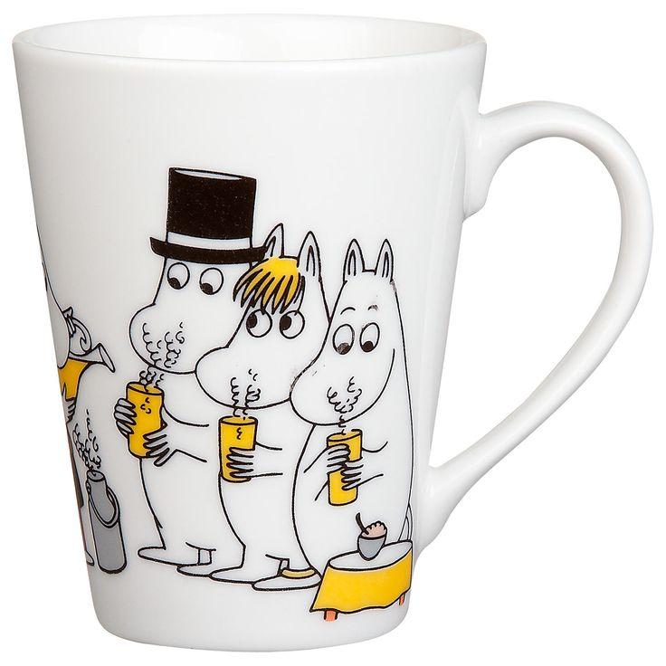 Moomin tea time mug