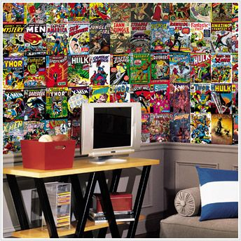 Comic book wall paper