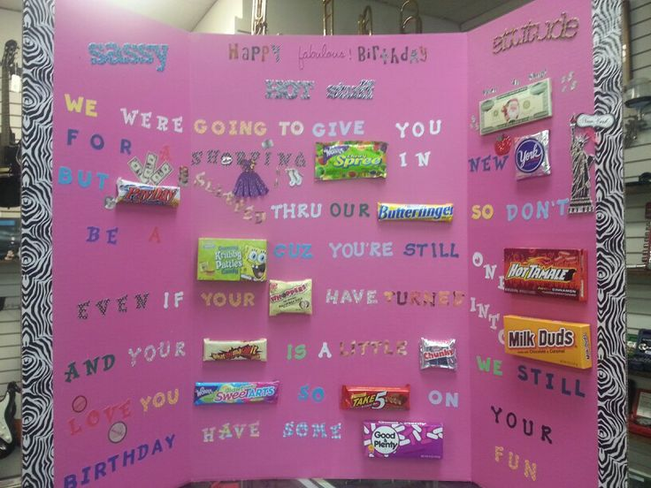 35 best images about Birthday Candy Poster on Pinterest ...