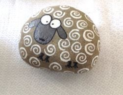 This is the cutest pebble without a doubt !