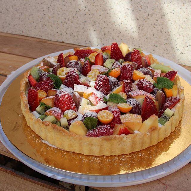 Еще один фруктовый тарт, их было мнооого в последнее время Перехожу на ягоды