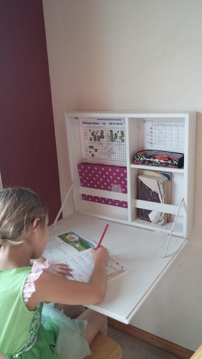 Flip Down Desk Ana White Diy Desk Plans Kid Room Decor Home Diy