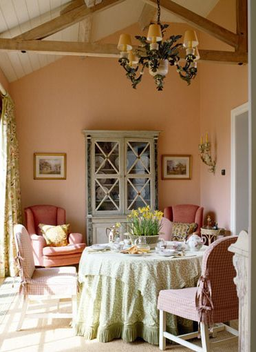 Cottage ♥ Country Dining Room