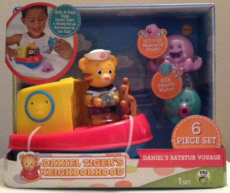 Jakks Pacific Quot Daniel Tiger S Neighborhood Quot Daniel S