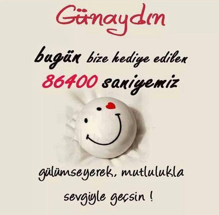 Gülümseyerek :)