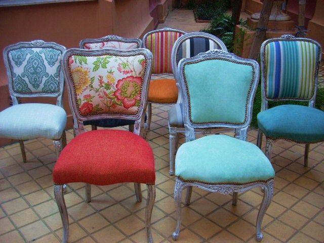 1000 ideas sobre sillas tapizadas en pinterest sillas for Sillas rojas comedor