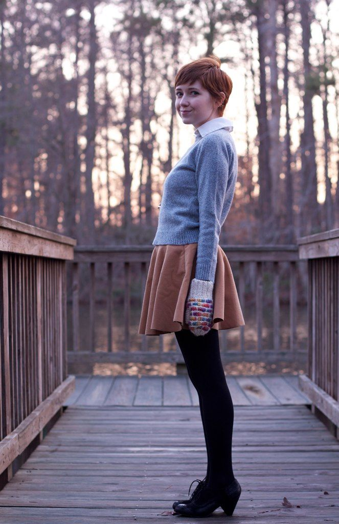 The super cute Rebecca from THE CLOTHES HORSE is wearing our BC Footwear FOIL oxford heels!!