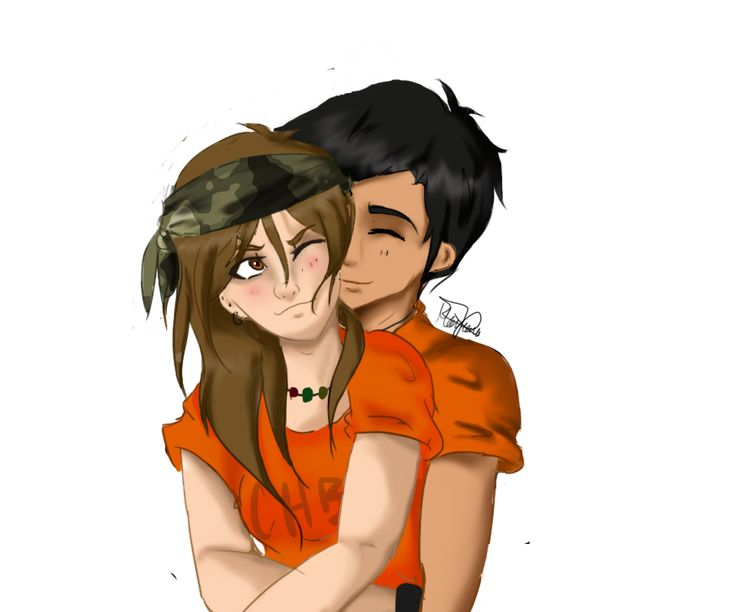 Clarisse and Chris by RoCkStarFreak.deviantart.com on @deviantART <<<< I LOVE these two, they do not get enough credit! =)