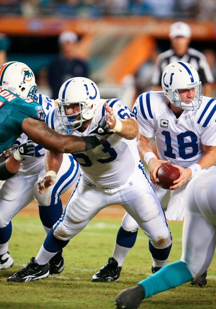 Jeff Saturday, Indianapolis Colts