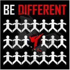 Be different taekwondo