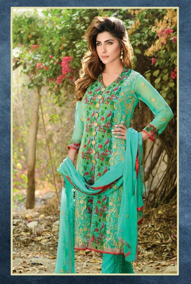 """Your choice "" ""FEMEENA"" Georgette Collections(4 pcs Catalog)"