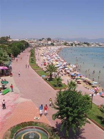 Altinkum Main Beach #altinkum #didim #beach #turkey