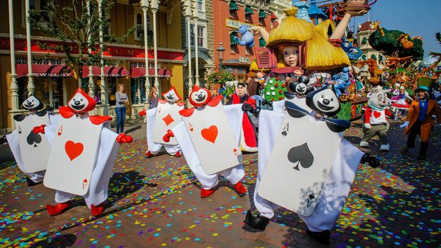 Shows & Parades in Disneyland Parks | Disneyland Paris Entertainment