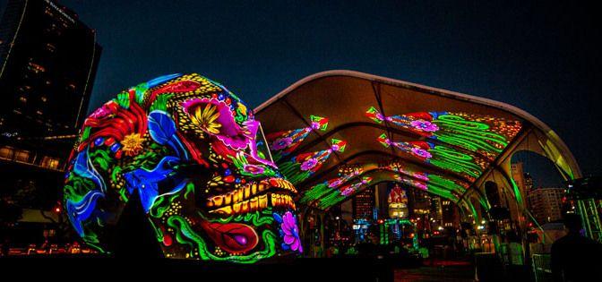 Spectacol uimitor de lumini conceput de Bart Kresa