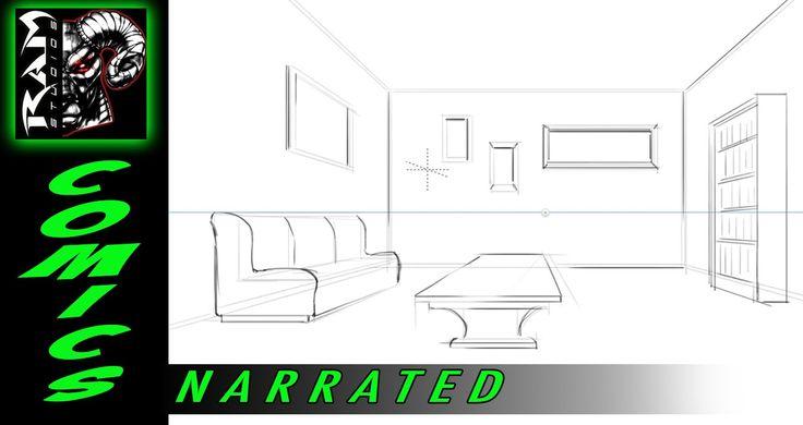 Sketchbook Pro 7 Demonstration - Perspective Ruler Video - Narrated by R...