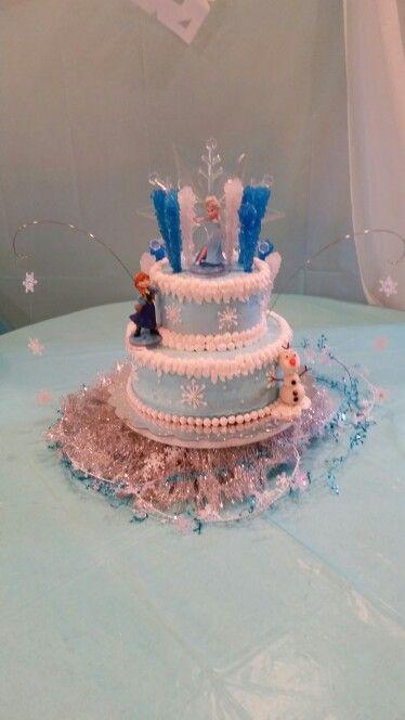Frozen- Elaina's 8th birthday cake
