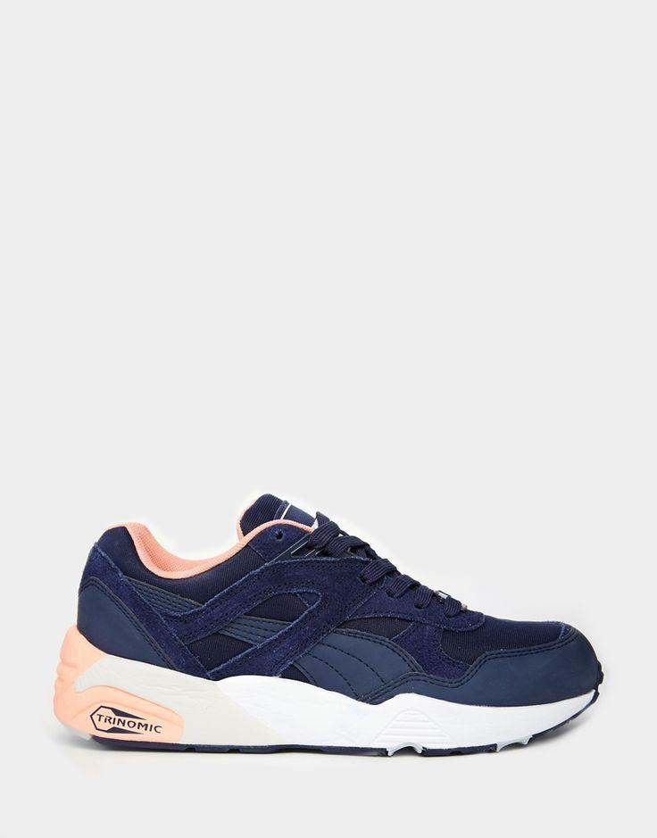 Image 2 - Puma - R698 Trinomic - Baskets - Bleu