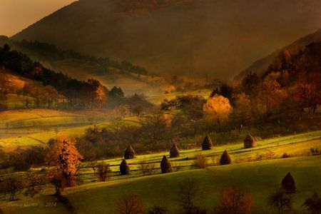 Autumn morning in the Apuseni Mountains Photo by Hamos Gyozo -- National Geographic Your Shot